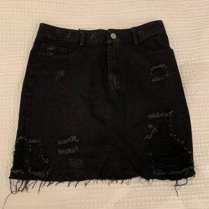 Dresses & Skirts - Denim black skirt